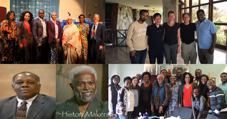 African Scholars Forum at UMass Boston Collage of faculty members and students.