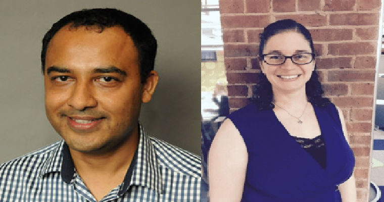 Amit Patel and Marcia Mundt