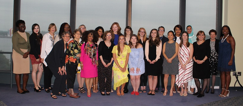 Photo of the students in the GLPP class of 2018, along with program faculty and staff