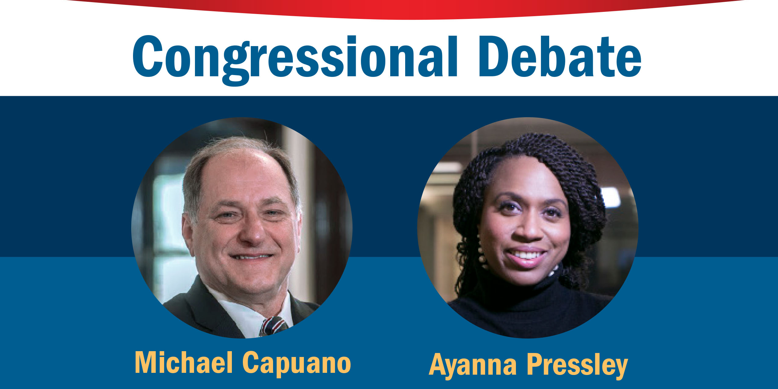 Michael Capuano and Ayanna Pressley