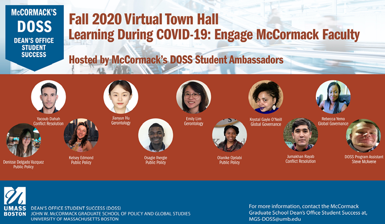 DOSS Virtual Town Hall Banner